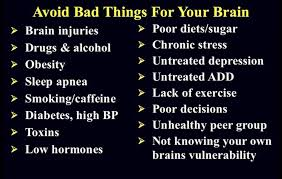 Brain Bad things Amen