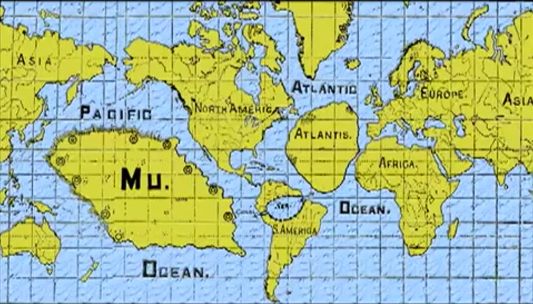 Lost continents of Mu & Atlantis