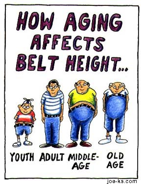 ageing BeltHeight